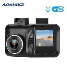 AOSHIKE Multi-language 1.5-inch Driving Recorder Hidden HD Screen 1080P Car Camera DVR Night Vision G-Sensor Parking Monitor