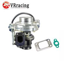 VR RACING-GT3076R INTERNAL WASTEGATE TURBO CHARGER A/R:.70/ .50 cold, .86 hot ,t25/28 flange v band VR-TURBO33