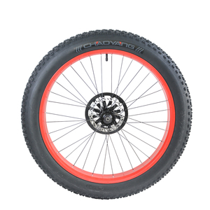 Shengmilo MX01 MX02 Электрический снегоход переднего колеса пляжного автомобиля переднего колеса 26 дюймов толстый велосипед с внутренней трубкой, ...