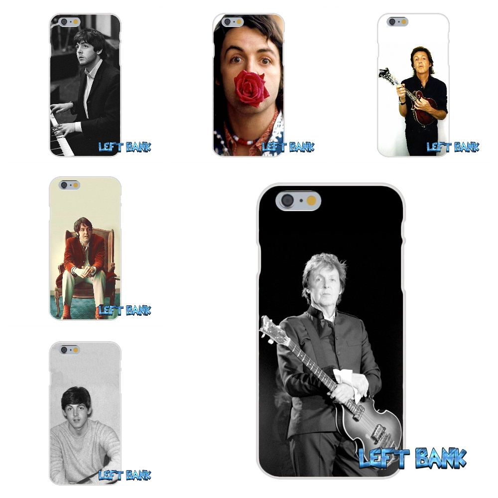 Paul McCartney Great portrait of Singer Soft Silicone TPU Transparent Cover Case For iPhone 4 4S 5 5S 5C SE 6 6S 7 Plus