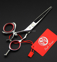 5.5Inch 360 Degree Rotation Left Hand Cutting Scissors Hair Shears for Salon Hairdressers JP440C with Free Case 1pcs LZS0637