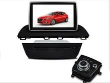 Mazda3 Axela control de la dirección de radio dvd GPS Bluetooth libera el mapa de radio Estéreo Del Coche Con BT Ipod Del Volante
