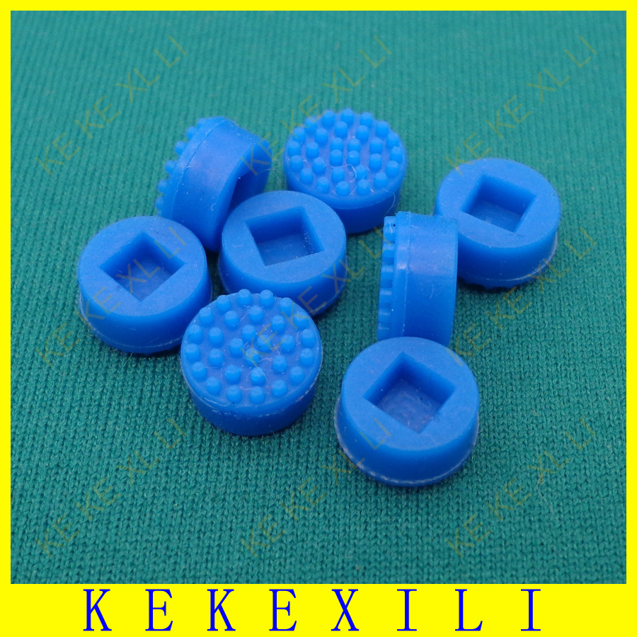 New 100x Laptop Notebook Trackpoint Pointer Mouse Blue Stick Point Cap For DELL Laptop Keyboard Trackpoint Little Dot Cap