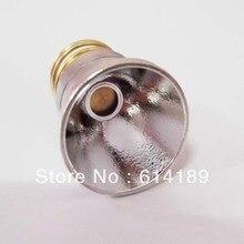 Reflector OP de aluminio de 26,5x22mm para LED CREE (10 unids/lote)