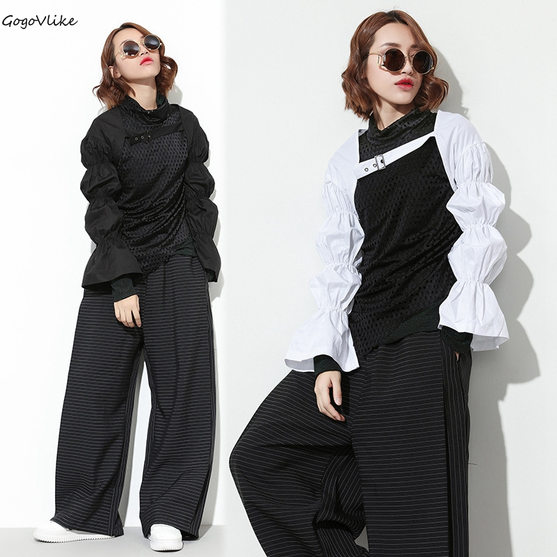 Punk Jacket Short design 2018 Spring Sexy Scarf all Match Outwear European Style Special Shawls Women Clothing LT598S30