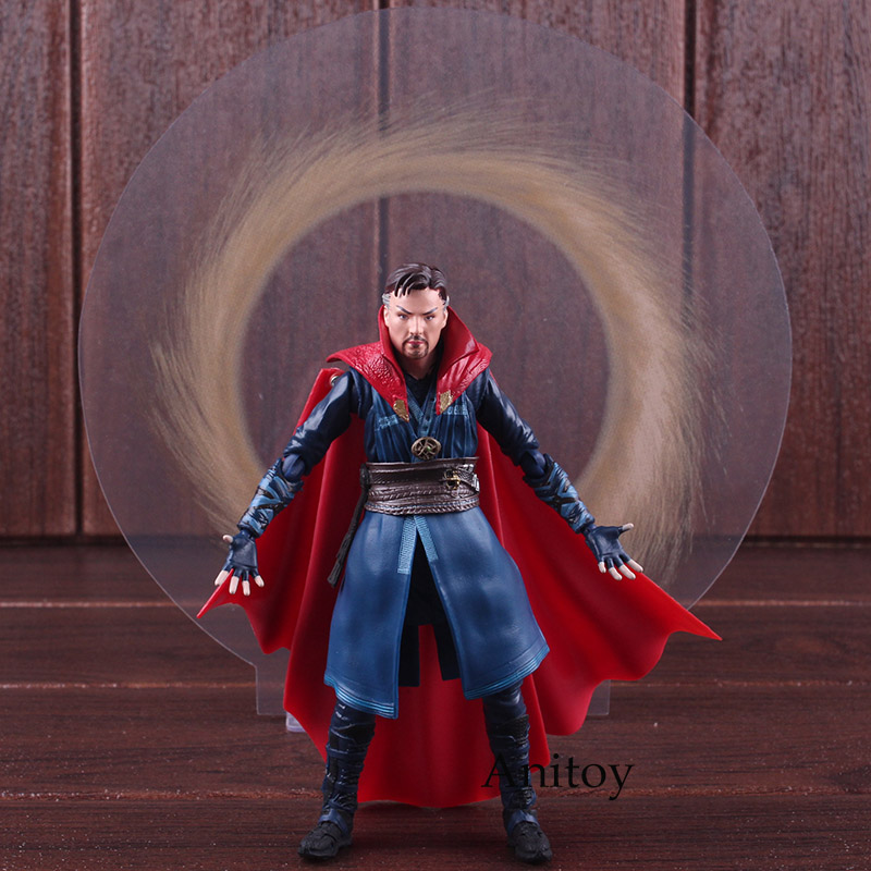 цена SHF S.H.Figuarts Avengers Infinity War Doctor Strange Action Figure PVC Marvel Legends Figures Collectible Model Toys 14cm