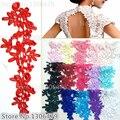 10pieces/lot 16 colors optional Soluble Exquisite lace DIY bridaltiara wedding shoes wedding dress decoration materialsRS1018