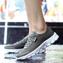 Men Sneakers Black Large Size 35-48 Summer Shoes Sport Breathable Mesh Running Women Sports Walking Trainers