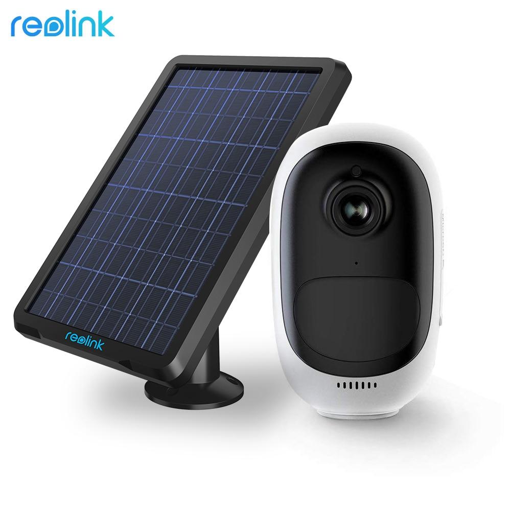 Reolink Argus Pro avec Panneau Solaire Puissance De Charge Rechargeable Batterie WiFi Caméra de Surveillance pour Extérieure de Sécurité Intérieure