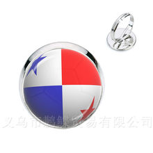 New 2018 Fashion Rings World Cup Football National Flag Panama,Australia,Egypt,Argentina,Russia,Germany,Denmark,Poland,Iceland(China)