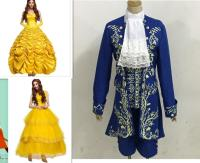 Halloween Costumes For Women Fairy Adult Princess Belle Cosplay Costume Girl Party Dress Beauty And The