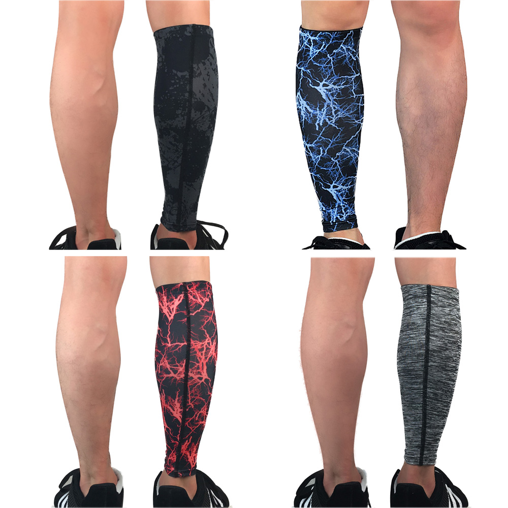 Leg Sleeve Protector Sports Calf Sleeve Wrap For Outdoor Basketball Football LFSPR0049