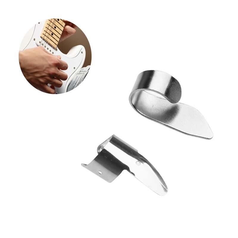 4 Pcs Guard Finger Pick Protector Plectrum Fingertip For Banjo Ukulele Guitar