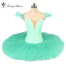 free shipping plain professional ballet tutus blue for girls natcracker platter ballet tutu ballet kids ballet costumesBT9111