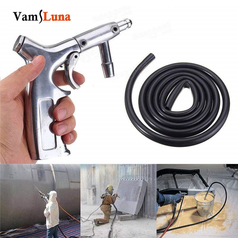Vamsluna Air Sand Blaster Siphon Feed Blast Gun Nozzle Ceramic Tips Abrasive Sand Blasting 22pcs sand