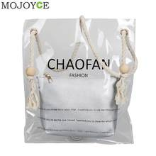 Hologram Transparent Handbags for Girls Women s Designer Bag Beach Casual Handbag  with Jelly Small Purse Fashion PVC Clear Bag aca73b6b4af59