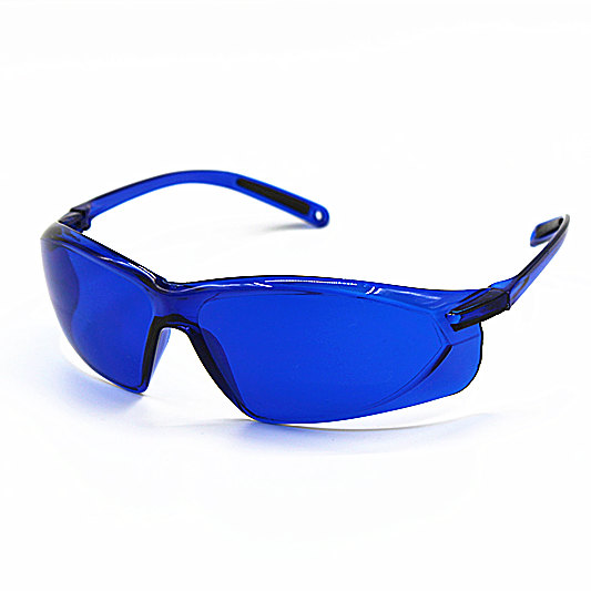 1pcs Safety Glasses IPL Beauty Protective Goggles Red Laser Hoton Color Light Golf Ball Finding Glasses