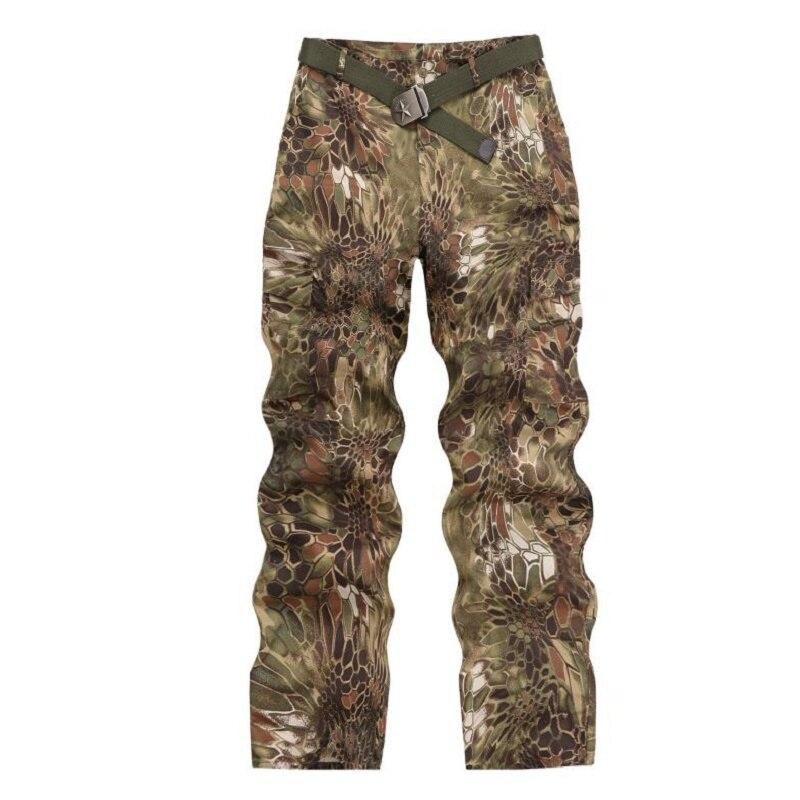 Sport de plein air chasse vêtements Camouflage costumes chemise tactique + Combat Cargo pantalon Uniforme militaire uniformes Ghillie costume - 5