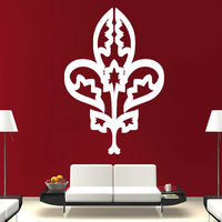 White Flower Wall Sticker Home Decor Waterproof Vinyl Art House Decorative Accessories For Living Room