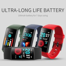 Sport Unisex LED Color Screen Clock Smart Bracelet IP67 Waterproof Watch Heart Rate Monitor Pedometer Sport Mode Fitness watch(China)