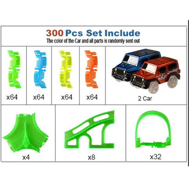 300 PCS 2 Car