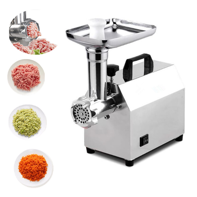 220v/50hz electric stainless steel meat mincer mincing machine home multifunctional meat grinder sonifer цена и фото