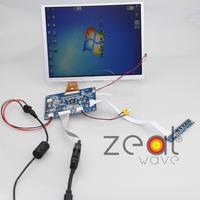 10 4 Inch A104SN03 800x600 4 3 TFT LCD Display VGA AV Driver Controller Board Card