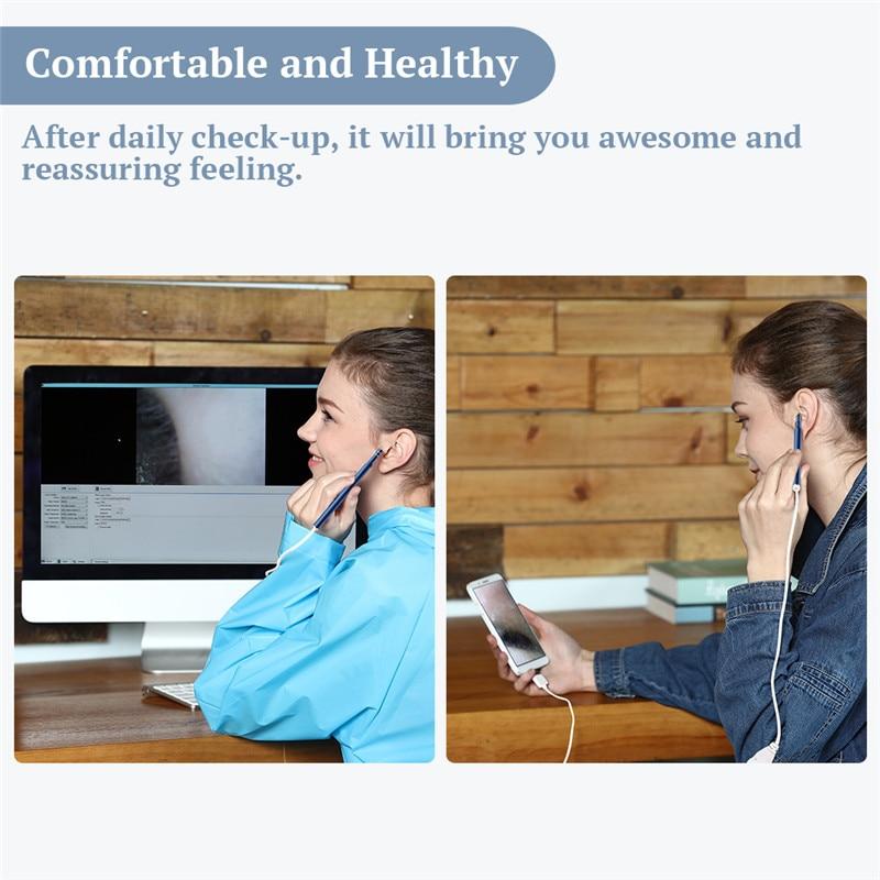 HTB14hQHfpYM8KJjSZFuq6Af7FXan KERUI OTG Visual Ear Cleaning Endoscope Diagnostic Tool Ear Cleaner Android Camera Ear Pick