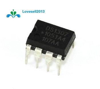 10 Uds DS1307 DS1307N DIP-8 RTC serie 512K I2C en tiempo Real de IC de reloj