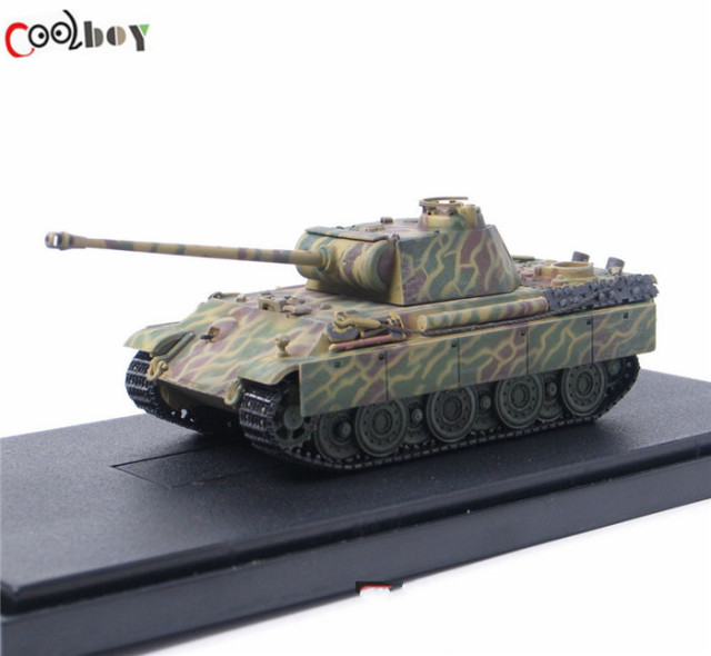 1:72 Scale Dragon Toys WWII German Panther Tank Armored Model Military Diecast Tank Toys Collection Hobbies Gift