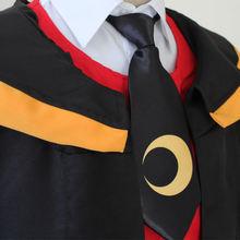 Галстук для косплея аниме костюмы унисекс повседневный галстук