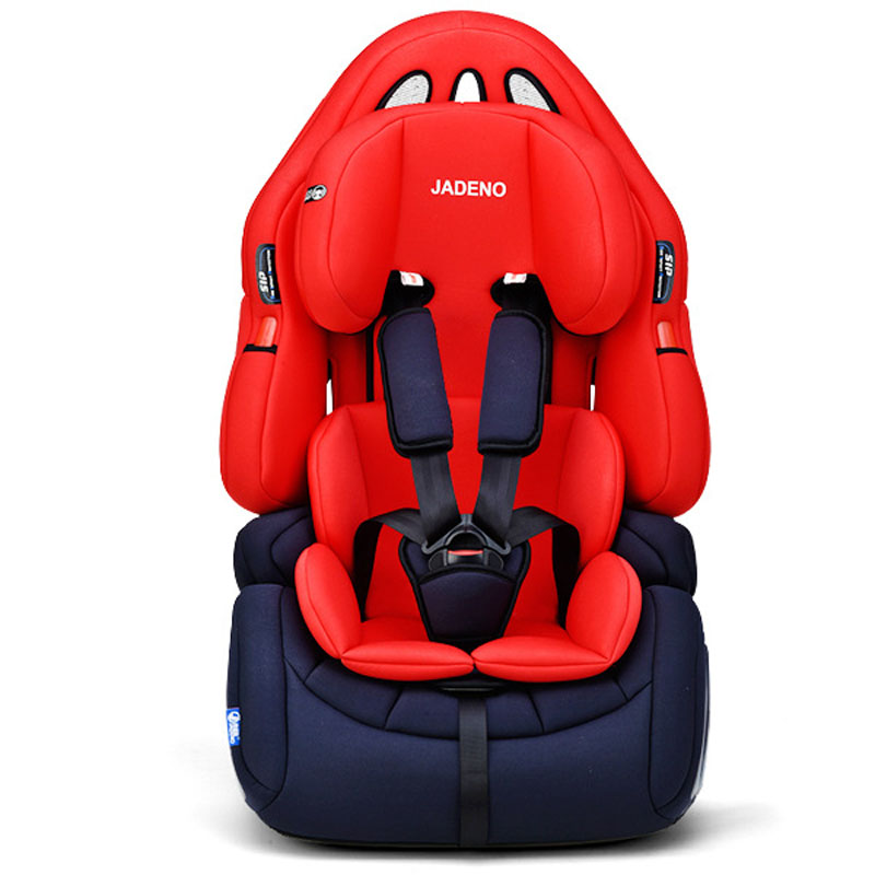 JADENO Baby Car Seat Sitting Chair Car Booster Seat Travel Portable Adjustable Child Car Safety Seat Forward Facing for Kids child car safety seats forward facing baby booster seat carmind for 1 12years old 9 36kg kids group 1 to 3
