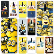 Hot Cute cartoon Minions Soft Silicone Fashion Transparent Case For OnePlus 7 Pro 5G 6 6T 5 5T 3 3T TPU Cover