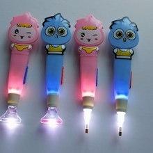 New DIY Diamond Painting Point Drill Pen Cute Cartoon Luminous Stick Plastic Tool Color Random Delivery