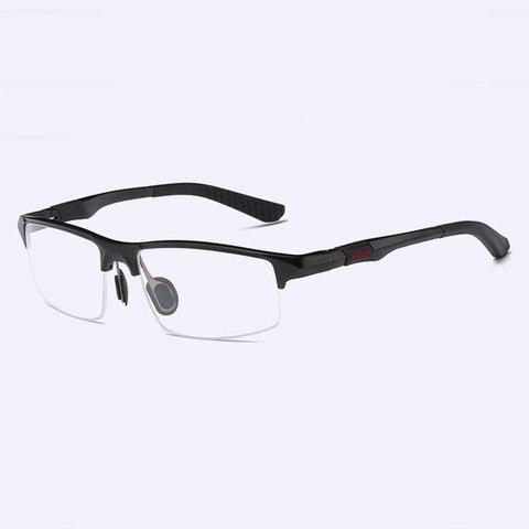 3121 Optical Eyeglasses Frame for Men Eyewear Prescription Glasses Half Rim Man Spectacles Alloy Frame Eyeglasses Karachi