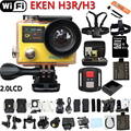 "Action Camera Original Eken H3R / H3 Ultra 4K HD 2.0"" Dual Screen Action Camera Waterproof 170D Lens go - pro Style cam"