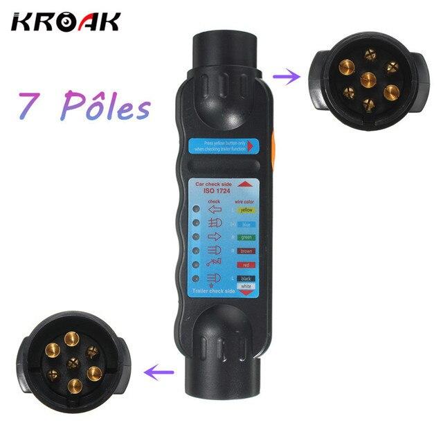 12 V 7 Pin Fahrzeug Auto Abschleppanhänger Licht Auto Anhänger Kabel ...