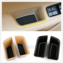 цена на For Porsche Macan 2014 2015 2016 2017 2018 Door Holder Armrest Storage Box Container Tray Car Organizer Styling Accessories