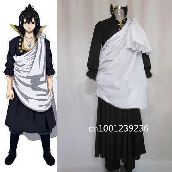 Fairy Tail Zeref Awakens Cosplay Costume Customized