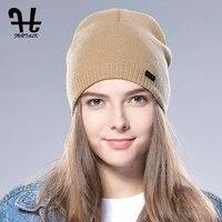 FURTALK Spring Autumn Watch Cap Woman Wool Knit Beanie Ski Cap Braided Hat