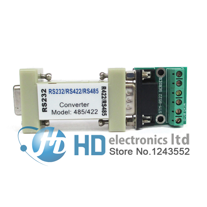 RS-232 RS232 serial to RS485/RS422 485/422 Converter hightek hu 03 universal usb to rs485 422 converter adapter