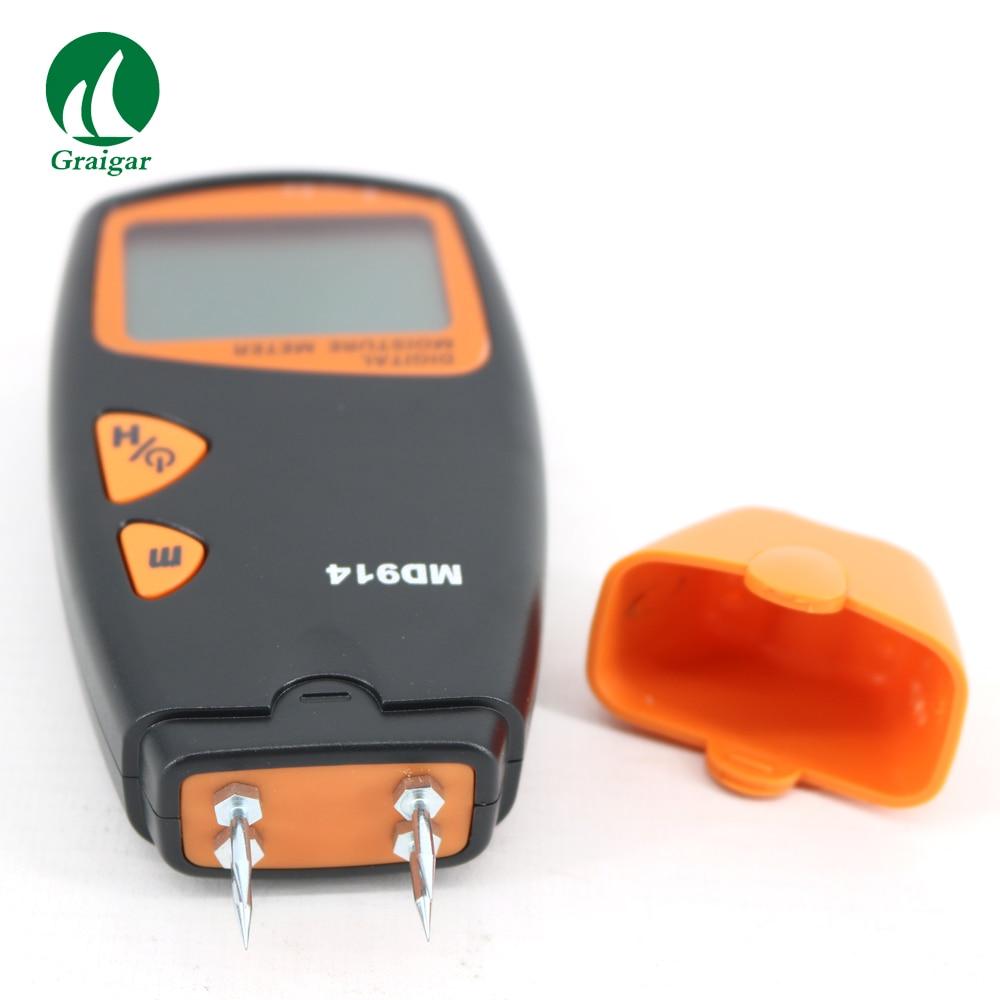 HOUT Digitale LCD vochtmeter digitale Timber Vochtige Detector MD914 - 3
