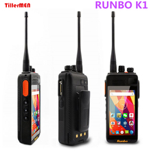 original Runbo K1 IP67 Waterproof Phone 4G LTE Rugged Android Smarpthone Quad DMR Digital Radio UHF PTT Walkie Talkie GPS POC