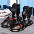 Large Size 38-46 Men Shoes Leather Summer Sandals Open Toe Cut-Outs Gladiator Sandal Boots Rome Style Mens Summer Fashion Shoes