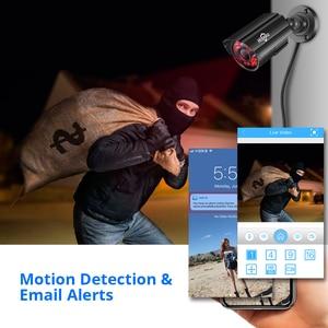 Image 5 - Hiseeu 8CH 5MP CCTV Camera System DVR 4PCS Outdoor Waterproof Security Camera Day/Night DIY Video Surveillance System Kit