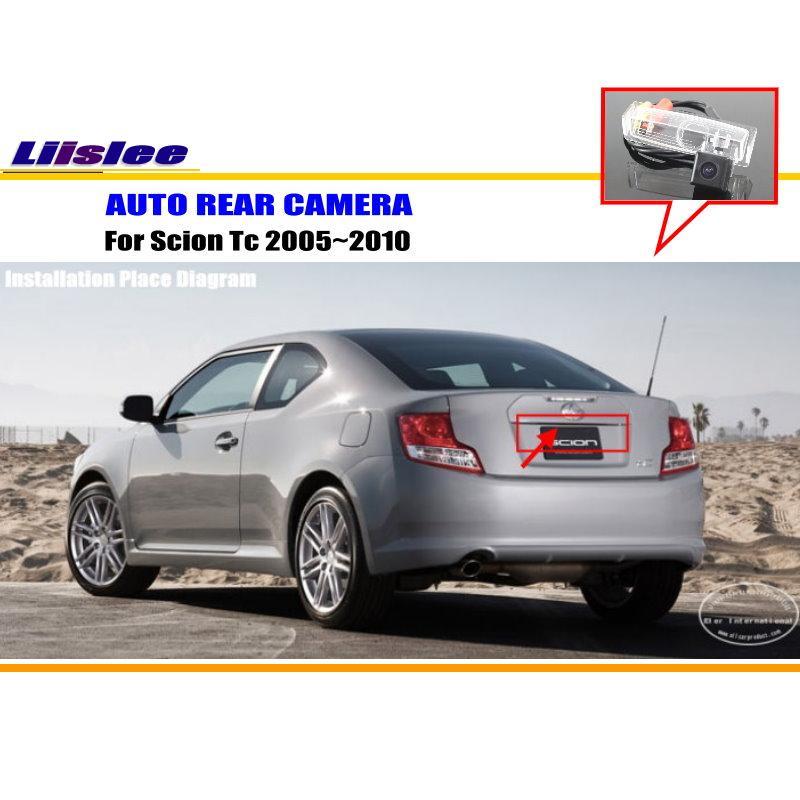 Liislee Pour Scion Tc ANT10 AGT20/Toyota Zelas-Rétroviseur caméra/De Sauvegarde Parking Caméra/NTST PAL/Plaque D'immatriculation lumière