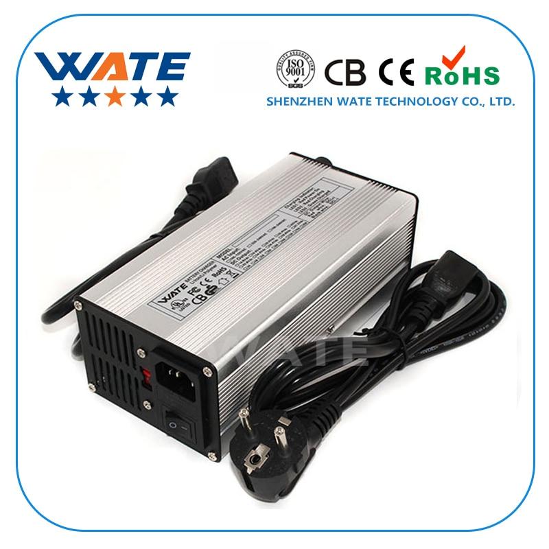 50.4V 6A Charger 44.4V Li-ion Battery Smart Charger Used for 12S 44.4V Li-ion Battery Output Power 360W Global Certification 54 6v 3a charger 13s 48v e bike li ion battery smart charger lipo limn2o4 licoo2 battery charger global certification