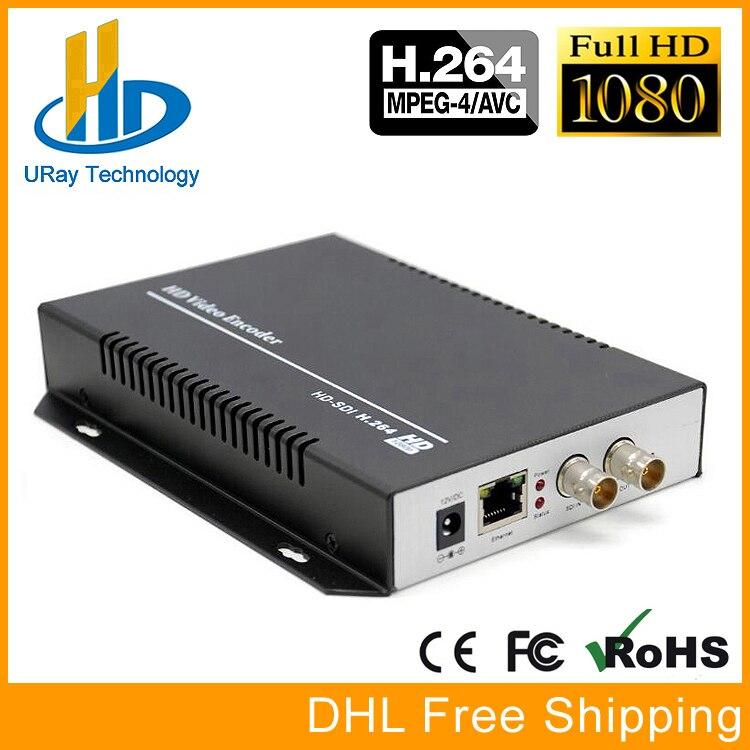 H.264 SD HD 3G SDI À IP Codeur Convertisseur 1080 P Vidéo Streaming Codeur H264 IPTV En Direct Flux RTSP RTMP UDP RTP HTTP codeur