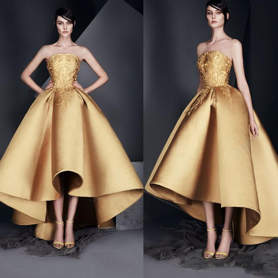 Gold To Hi Lo Dresses Fashion Dresses