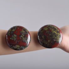 Dragon Blooded Stone Chakra Palm stone Big Hot Massage Stone Natural Healing SPA Reiki Crystal